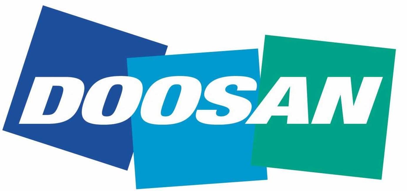 Логотип компании Doosan